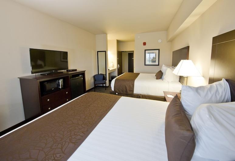 Cobblestone Inn & Suites - Boone, Boone, Standardværelse - 2 queensize-senge, Værelse