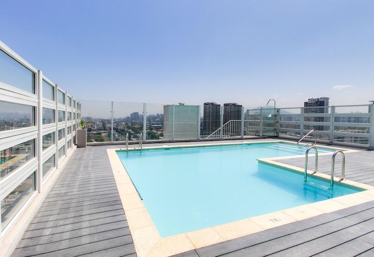 托斯卡 1727 號公寓酒店, Santiago, 室外泳池
