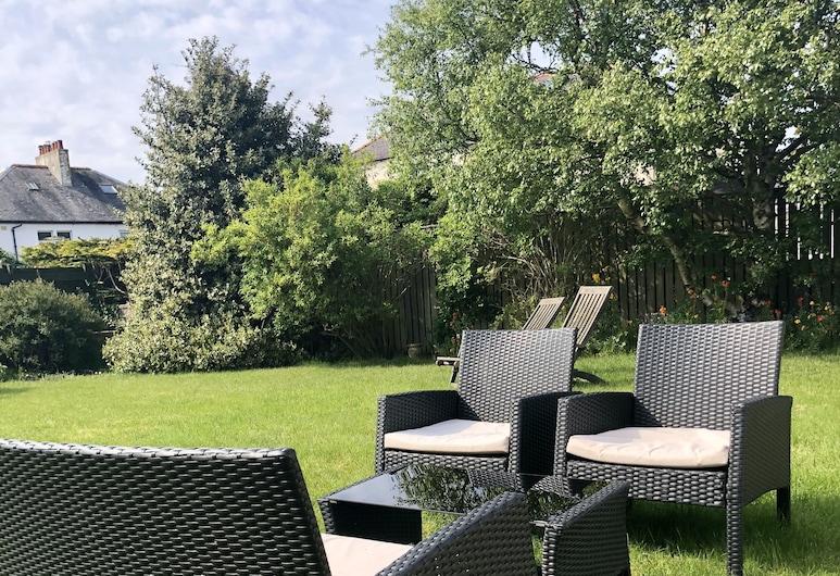 Prestwick Holiday House, Prestwick, Dobbeltrom – superior, hageområde, Terrasse/veranda