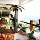 Lägenhet Comfort - kök - havsutsikt - Balkong