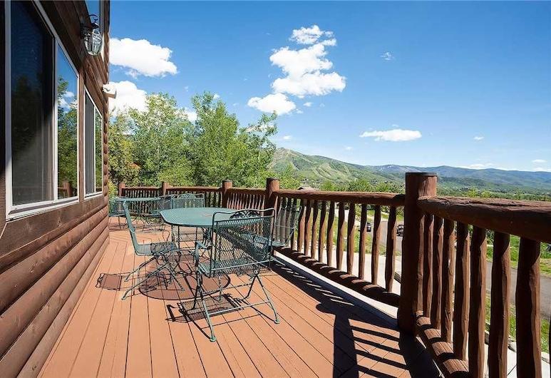 Valley View Home, Steamboat Springs, Kuća, Više kreveta (Valley View Home), Balkon