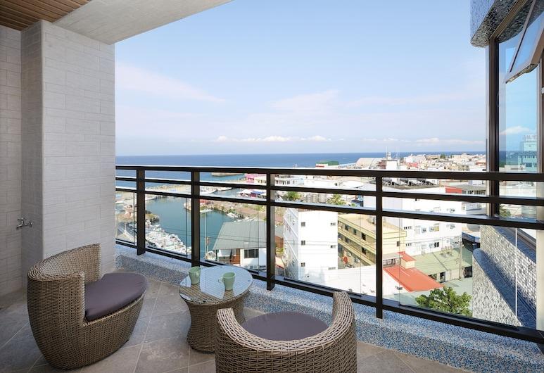 蘇宅旅店, 琉球鄉, 奢華套房, 1 間臥室, 露台, 高層, 陽台