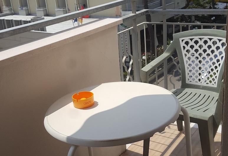 Albergo Sabrina, Riminis, Klasikinio tipo trivietis kambarys, 1 miegamasis, Balkonas