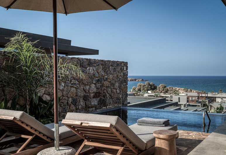 Domes Zeen, a Luxury Collection Resort, Chania, Chania, Room, 1 King Bed, Non Smoking, Sea View (Sapphire Pavilion), Guest Room View
