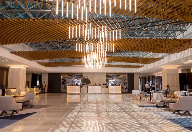 Flora Inn Hotel Dubai Airport, Dubajus, Vestibiulis