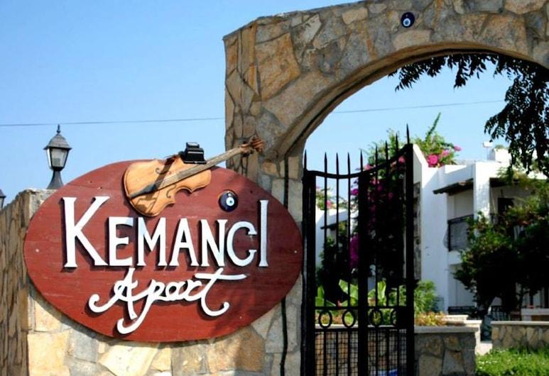 Kemanci Apart & Restaurant, Bodrum, Parte delantera del alojamiento