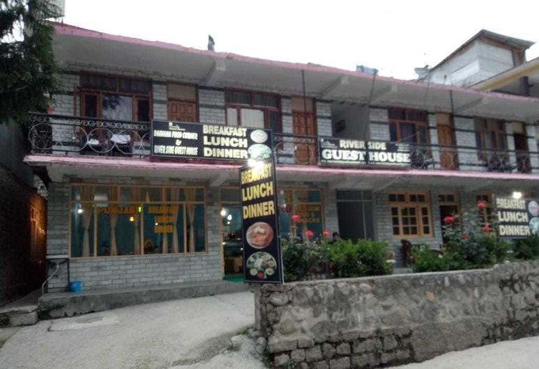 Riverside Guest House, Manali, Hotelfassade