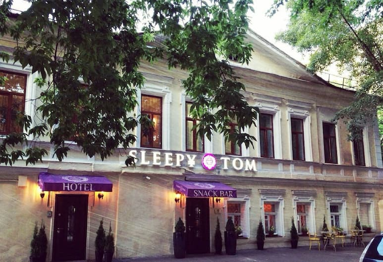 Sleepy Tom Hotel, Moscow, Hotel Entrance