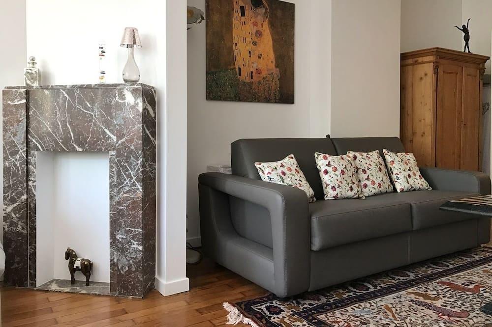 Exclusieve studio suite, 1 slaapkamer, op Executive verdieping - Woonruimte