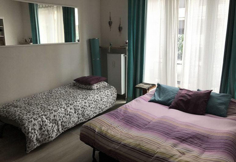 Exclusive Flats In Brussels - Congrès, BRUSEL, Štúdiový apartmán typu Exclusive, terasa, Izba