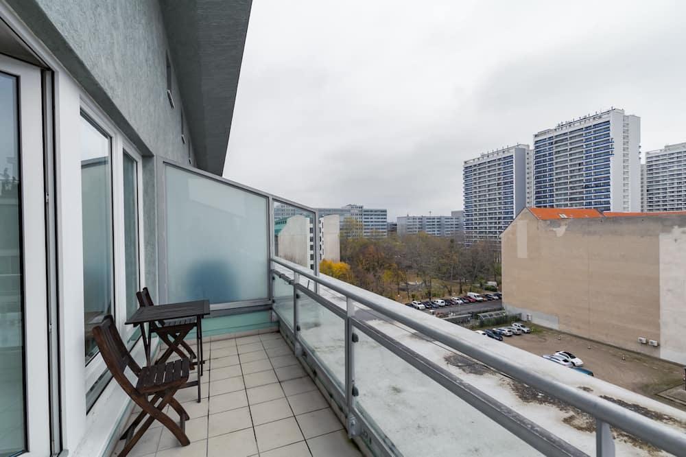 公寓, 1 间卧室, 阳台 (incl. 40€ cleaning fee) - 阳台