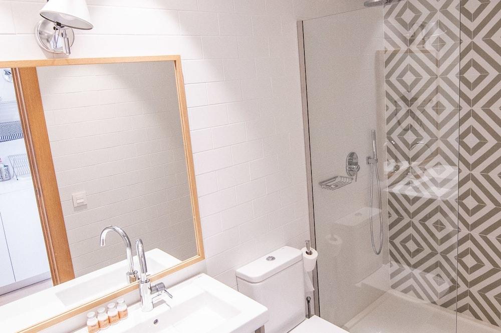 Premium-lejlighed - balkon - Badeværelse
