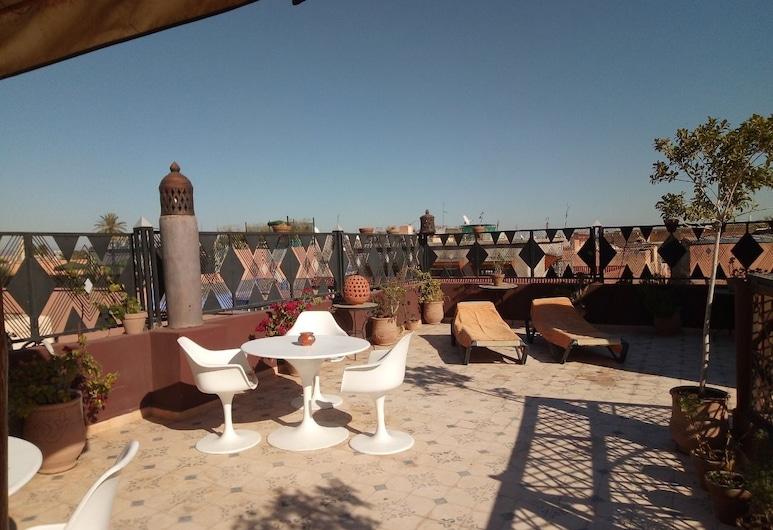 Riad Salma De Groot, Marrakech, Restaurante al aire libre