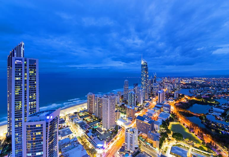 Circle on Cavill - We Accommodate, Surfers Paradise, 4 Bedroom Executive Sub Penthouse SPA Ocean, Terrasse/patio