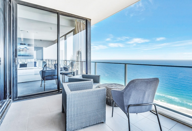 Circle on Cavill - Q Stay, Surfers Paradise, 5 Bedroom Sub Penthouse SPA, Balcone