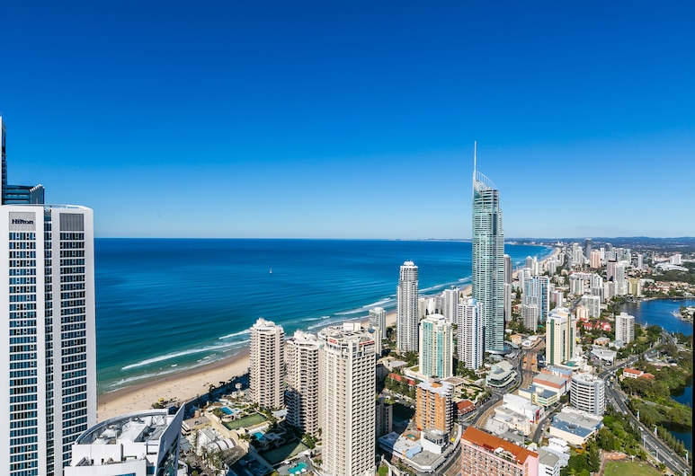 Circle on Cavill - Q Stay, Surfers Paradise, 3 Bedroom Sub Penthouse SPA, Terase/iekšējais pagalms