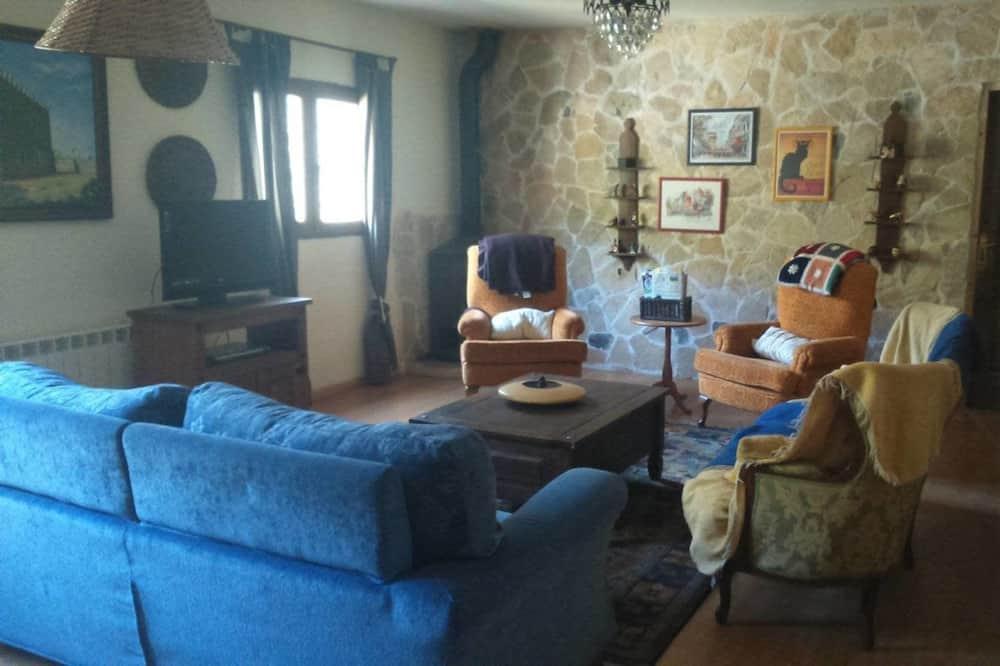 Коттедж, 5 спален - Гостиная