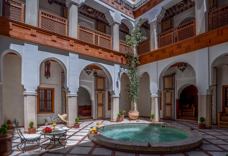 Riad Safran et Cannelle & Spa, Marrakech, Buitenzwembad
