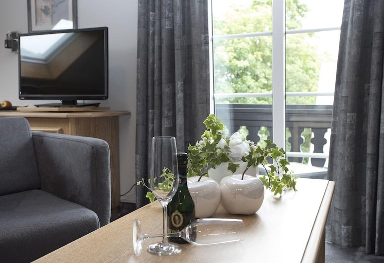 Hotel Forsthaus, Winterberg, Habitación doble Deluxe, Sala de estar