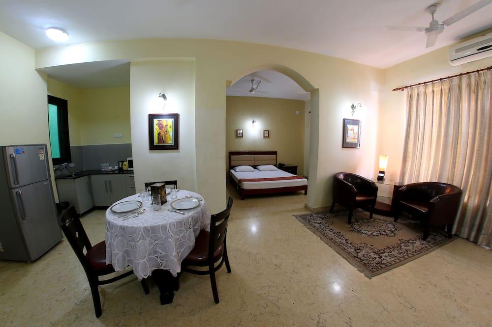 ห้องสวีท, เตียงคิงไซส์ 1 เตียง - บริการอาหารในห้องพัก