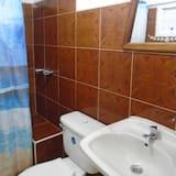 Comfort-Doppelzimmer, 1 Doppelbett, barrierefrei - Badezimmer