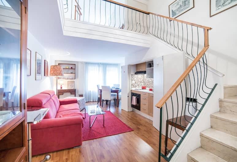 Rent In Rome - Appartamento Archimede, Rím, Dvojposchodový apartmán, 1 spálňa, Izba