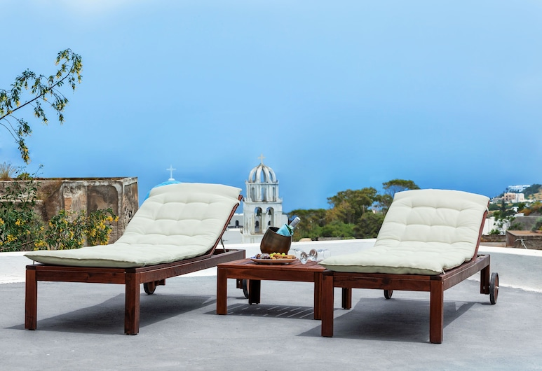 Casa d'Argento, Santorini, Deluxe Apartment, Terrace/Patio