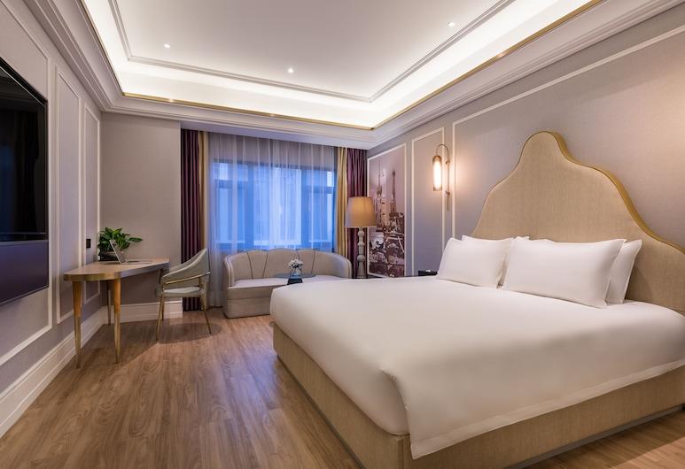 Mercure Shanghai Jiuting, Shanghai, Deluxe Room, 1 King Bed, Living Room