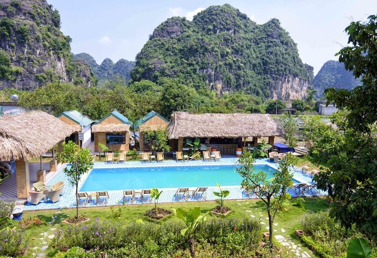 長安平房酒店, Hoa Lu, 室外泳池