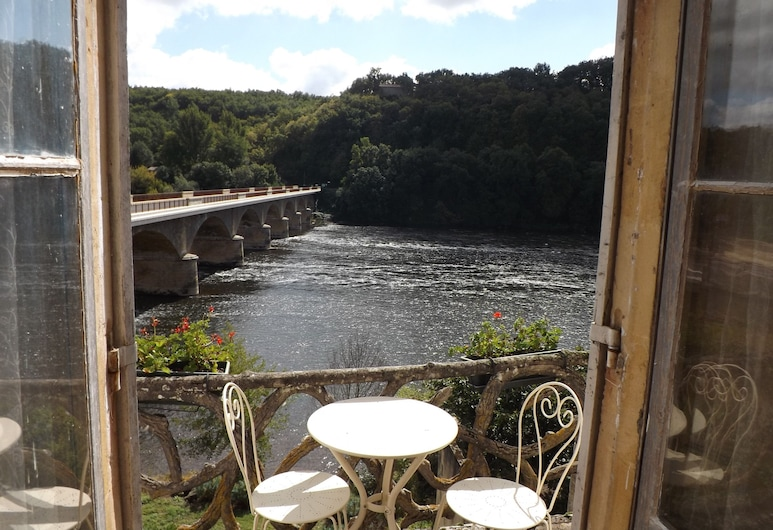 Maison Porte Del Marty, Lalinde, Deluxe Double Room, 1 King Bed, Balcony, River View, Balcony