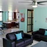 Lägenhet Deluxe - 3 sovrum - havsutsikt - Vardagsrum