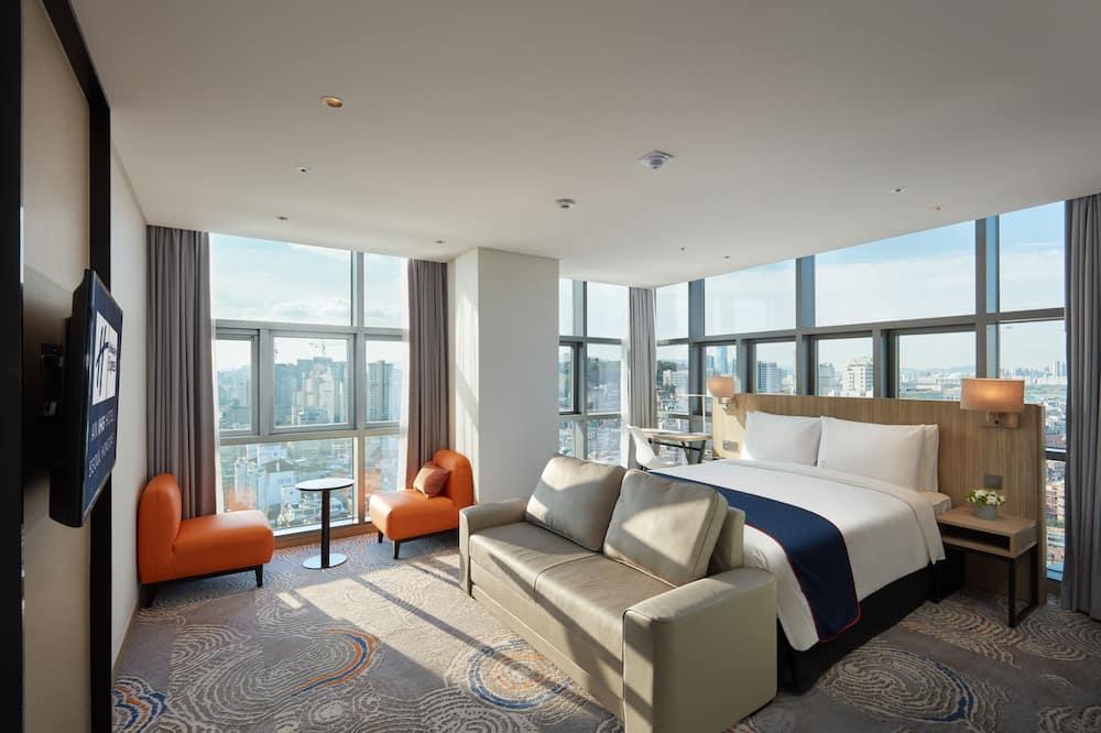 客房, 1 張加大雙人床, 非吸煙房, 轉角 - 客房