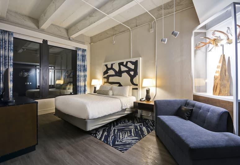 Hotel Indigo Kansas City - The Crossroads, Kansas City, Kansas, Suite, 1 spavaća soba (1 King Bed), Soba za goste