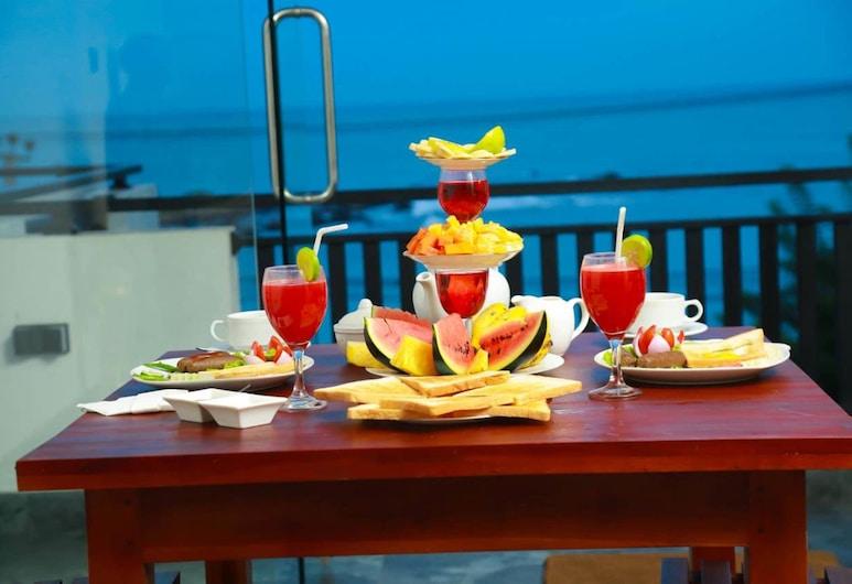 昆斯海灘飯店, Tangalle, 露台