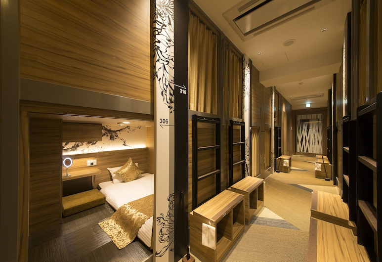 HOTEL Cargo Shinsaibashi, Osaka, Capsule Room, Men only (Upper & Lower Capsule For 2 guests), Guest Room