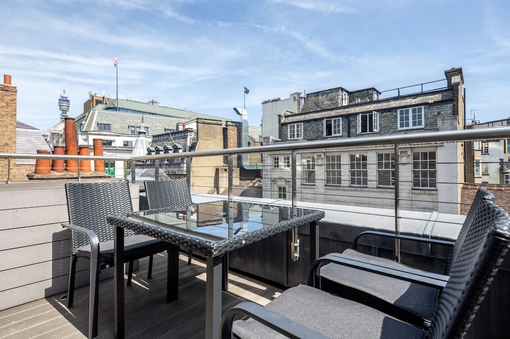 Chic 2 bed at Berwick Street with terrace - BR06 - Balkonas