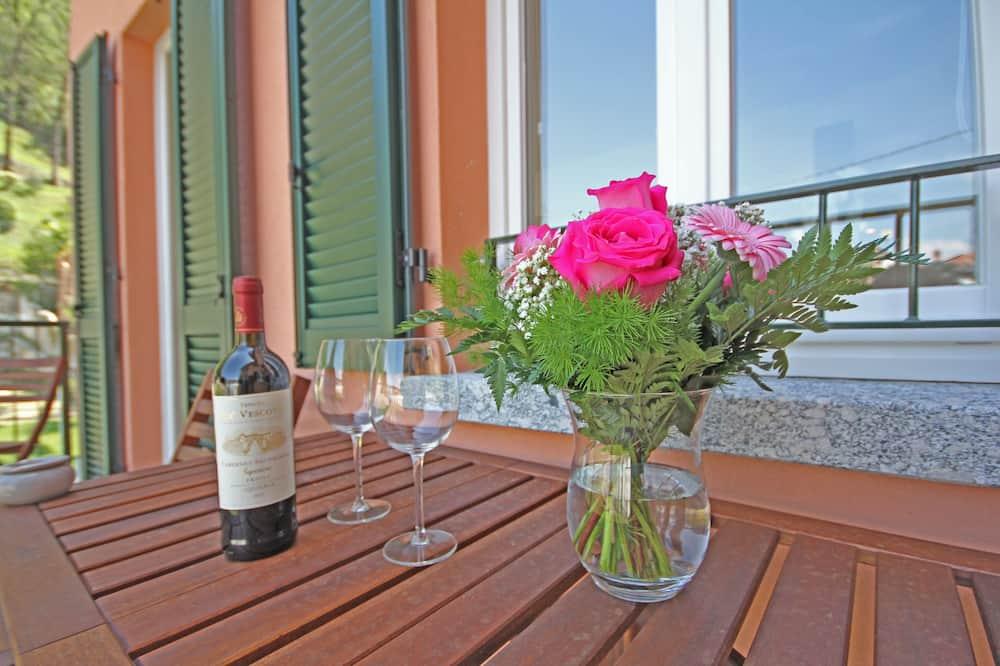 Departamento, 1 habitación, terraza - Balcón