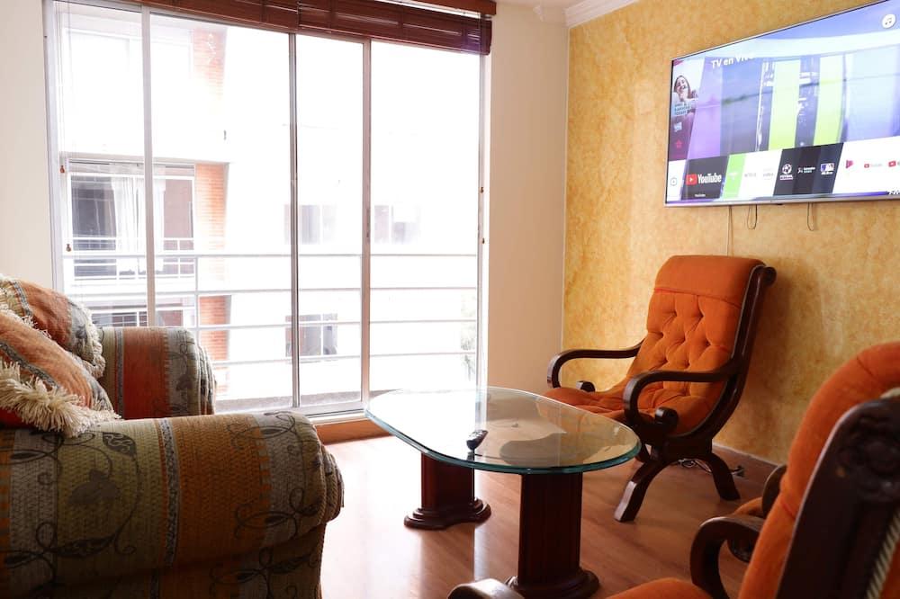 Basic apartman, 2 hálószobával - Erkély