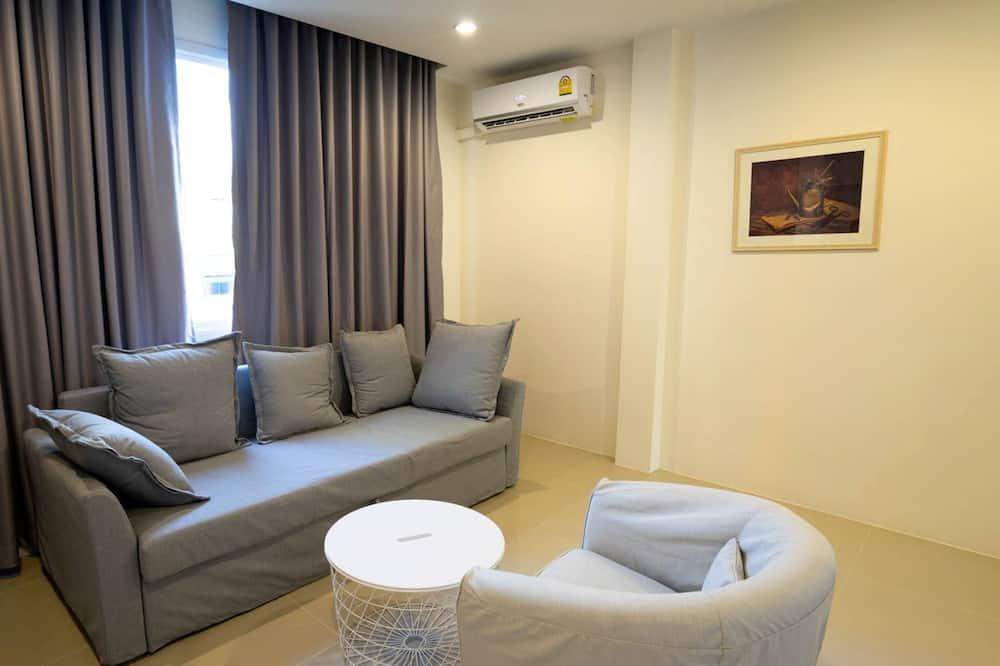 Premier Suite  - リビング エリア