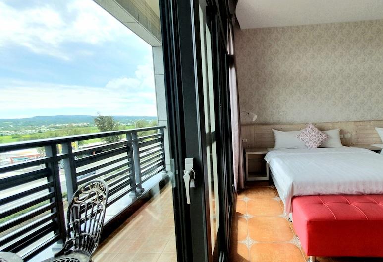 Warm & Cozy Inn, Hengchun, Štvorposteľová izba s panoramatickým výhľadom, 1 spálňa, Hosťovská izba