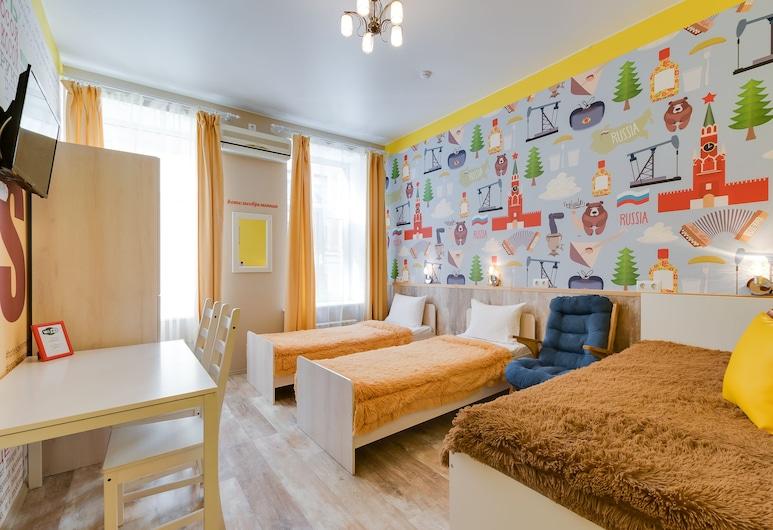 Sovremennik , St. Petersburg, Family Quadruple Room, Shared Bathroom, Guest Room