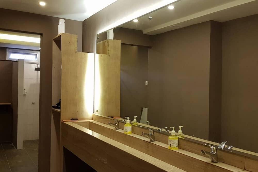 Slaapzaal, 1 slaapkamer, niet-roken, gemeenschappelijke badkamer - Badkamer