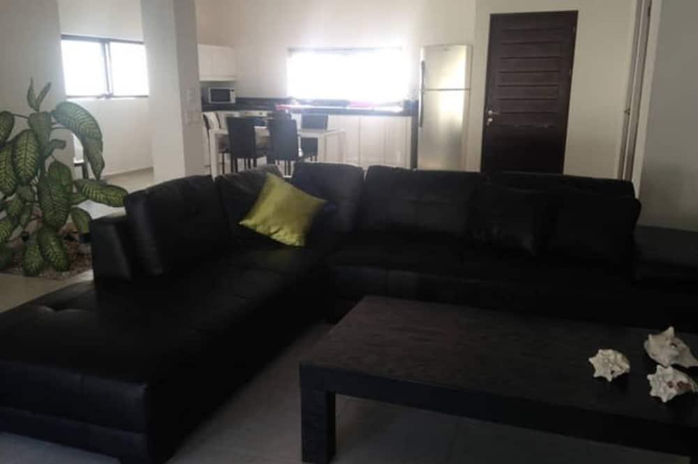 Townhome för familj - 3 sovrum - Vardagsrum