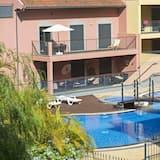 Міські апартаменти, 1 спальня, кухня, з видом на місто - Басейн