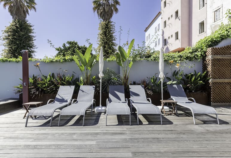 Light Blue Apartments - Downtown Lisbon, Lisbonne, Solarium