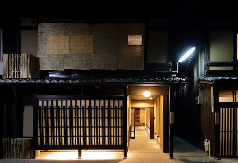 HOUKA, Kyoto, Hotel Front – Evening/Night