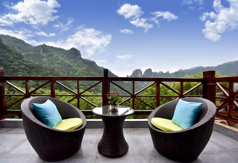 Mountain For Inn, Zhangjiajie, Grand Suite, Balcony