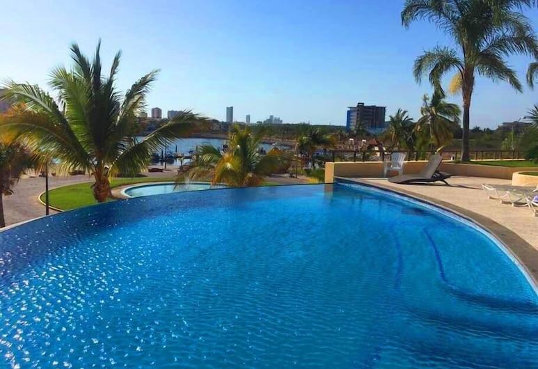 Condo Punta M, Mazatlán, Pool