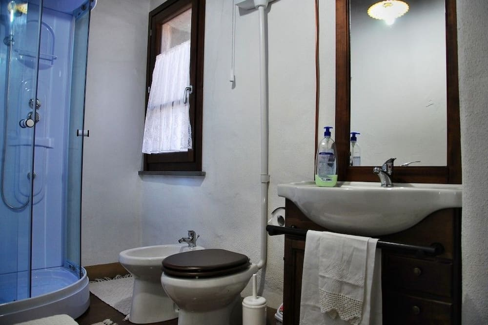 Двухместный номер «Комфорт» с 1 двуспальной кроватью - Ванная комната