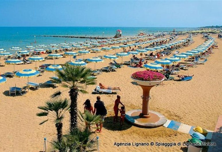 Lignano Pineta close to the beach, Lignano Sabbiadoro, Beach
